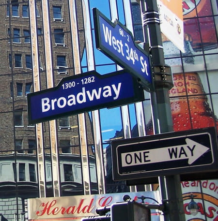 L'avenue de Broadway
