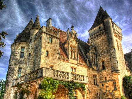 Circuit dans la Vallée de la Dordogne