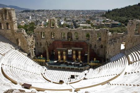 Versant sud de l'Acropole
