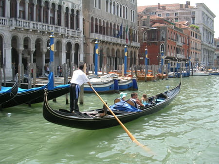 Grand Canal et palais de Venise