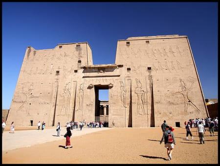Le temple d'Horus