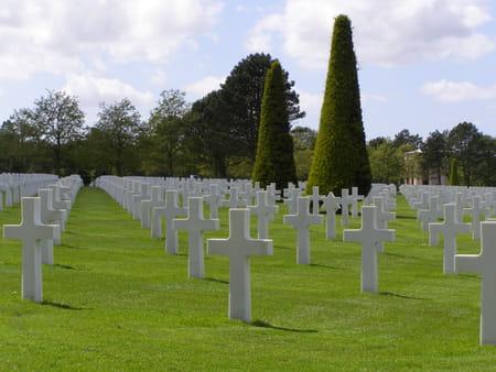 Le cimetière militaire US de Colleville-sur-Mer