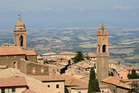 La forteresse de Montalcino