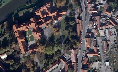 Le château de Zbraslav