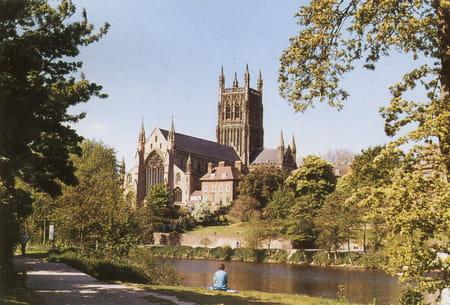La cathédrale de Worcester