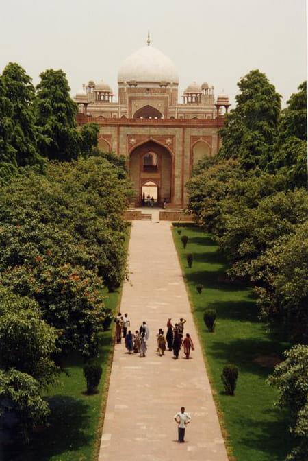 Tombeau de Humayun à Delhi