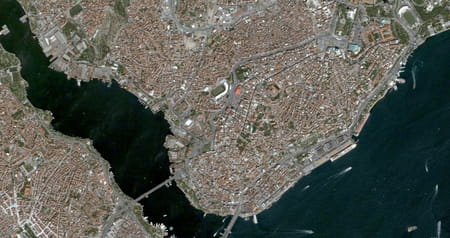 Quartier Beyoglu d'Istanbul