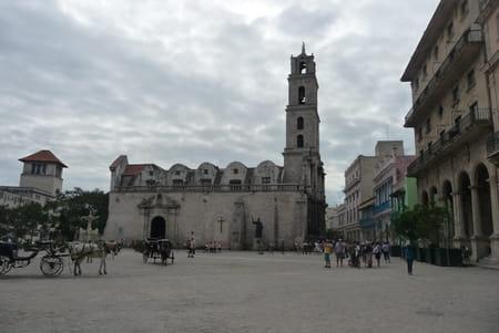 L'église et le couvent de Saint François d'Assise