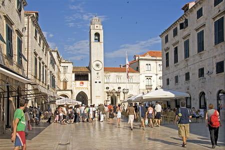 Place de la Loggia de Dubrovnik