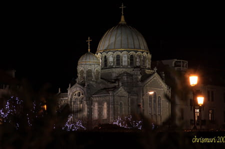 Église orthodoxe russe Saint-Alexandre Nevski de Biarritz