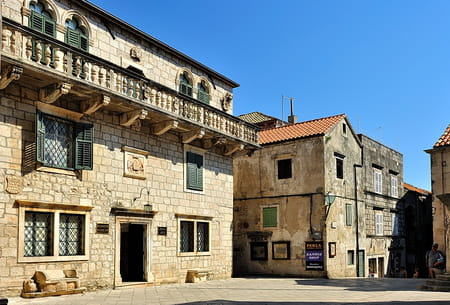 Place Saint-Marc de Korcula