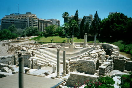 Amphithéâtre romain d'Alexandrie