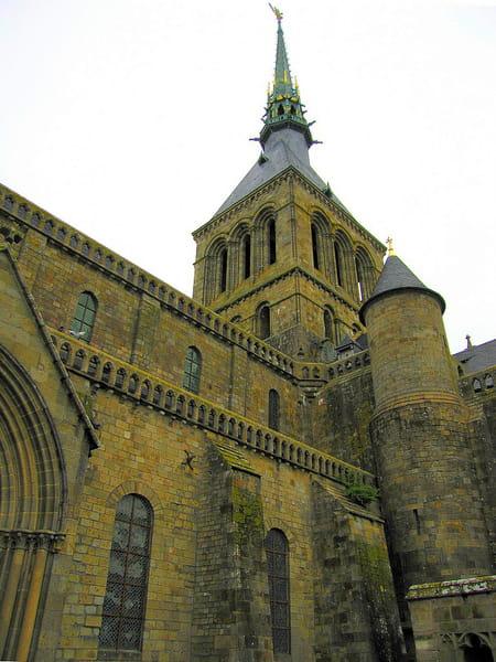 L'église de l'abbaye du Mont-Saint-Michel