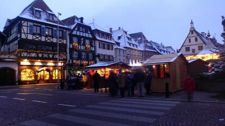 La place du Marché d'Obernai
