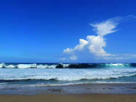 La plage de Grande-Anse