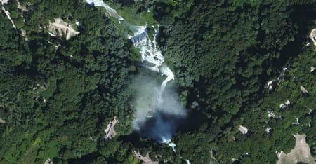 La cascade de la Marmore