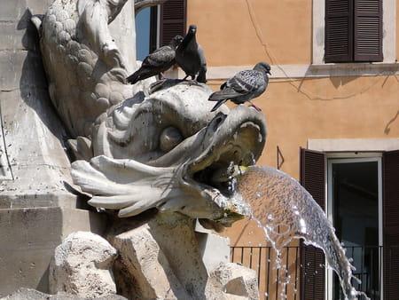 Places, obélisques et fontaines de Rome