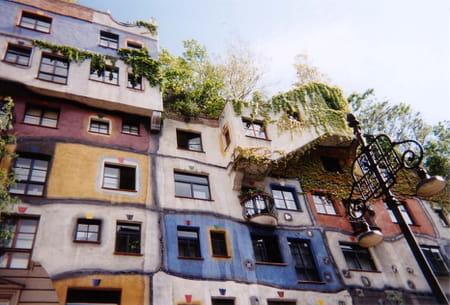 Maison de Friedensreich Hundertwasser à Vienne