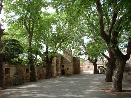 Rue des chevaliers à Rhodes