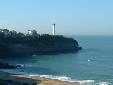 Phare et pointe Saint-Martin de Biarritz