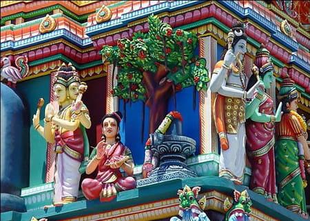 Le temple tamoul Narasinga Péroumal