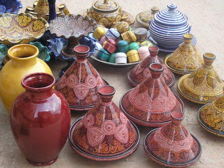 La vue du marabout de Sidi-Bouzid
