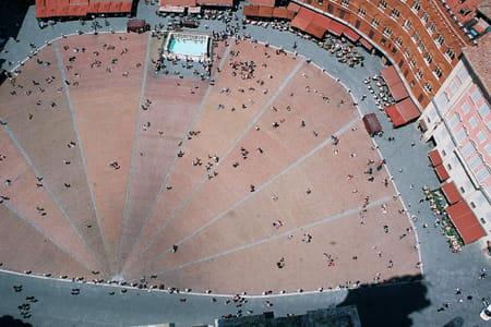 Piazza del Campo de Sienne
