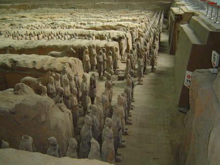 Armée enterrée de l'empereur Qin Shu Huangdi