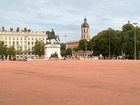 Place Bellecour de Lyon