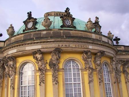Parc et château de Sans-Souci de Potsdam