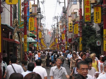 Le quartier chinois de Yokohama