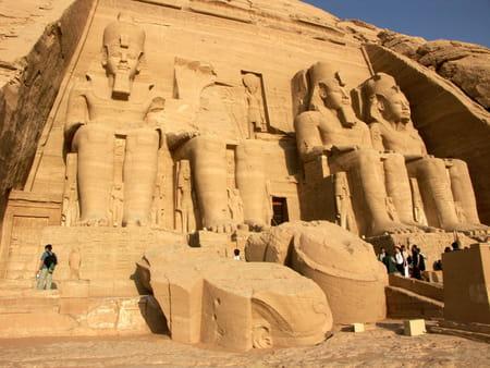 Le grand temple d'Abou Simbel