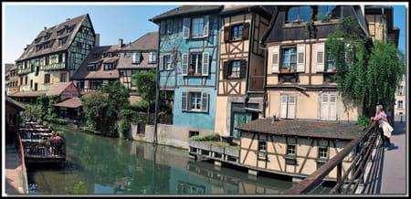 La ville ancienne de Colmar