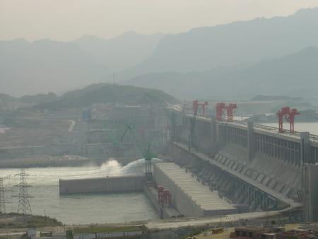 Les Barrage des Trois Gorges d'Hubei