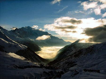Le domaine skiable de Chamonix