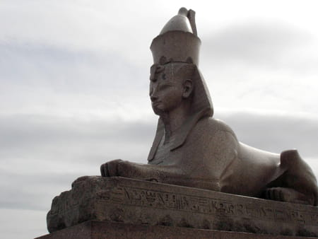 Le débarcadère aux sphinx