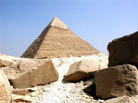La pyramide de Khéphren