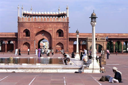 Mosquée Jama Masjid de Delhi