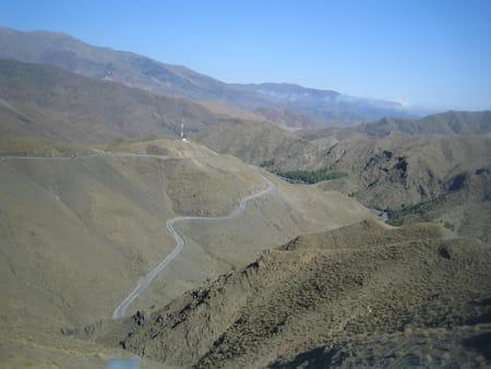 La route du Tizi-n-Tichka