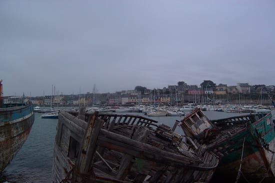 Cimetière de bateaux de Camaret - Cimetière de bateaux près de la chapelle Notre Dame de Rocamadour