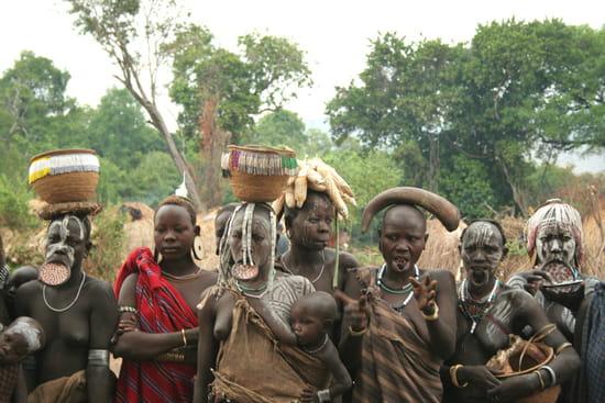 Peuple Mursi - Ethnie du sud éthiopien