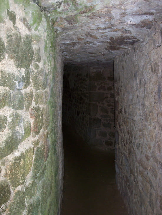 Lassay-les-Châteaux - Passage sous la barbacane