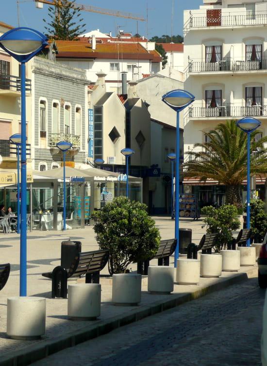 Nazaré au Portugal - Centre ville.