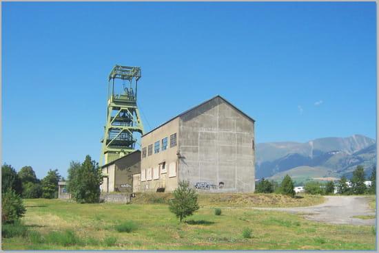 La mine - Le dernier puits de la mine de charbon