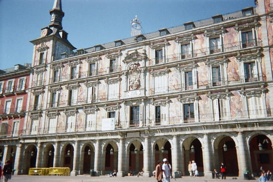 سياحة بلاد الأندلس المغصوبة إسبانيا facades-madrid-espag