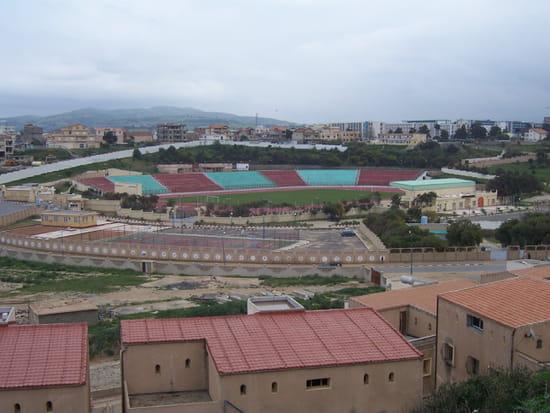 Stade de boumerdes - Voila une vue generale de stade de  boumerdes