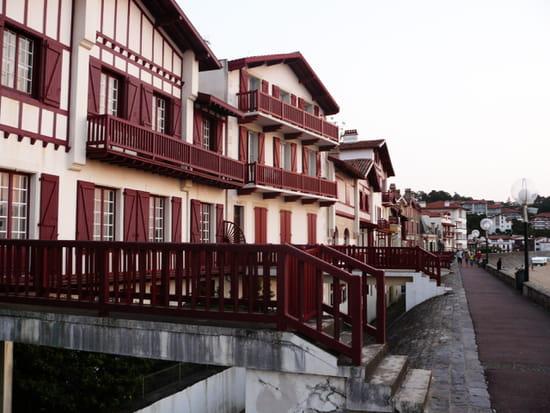 Maisons du front de mer - À Saint-Jean de Luz