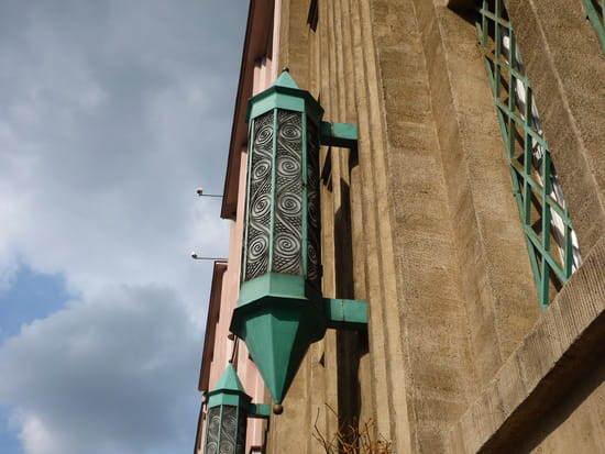 Lampadaire Rue du Commerce