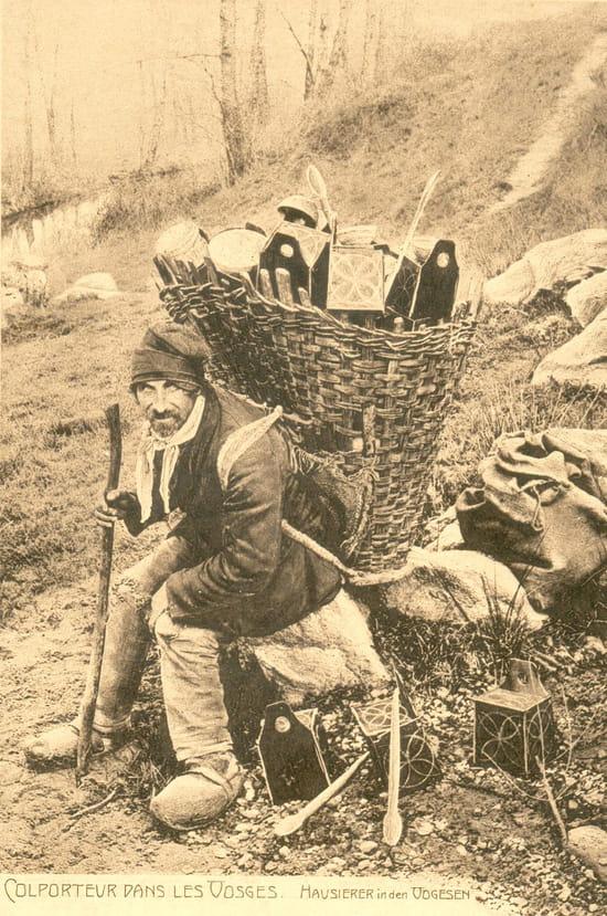 Colporteur - Colporteur dans les VOSGES début 20° siècle.