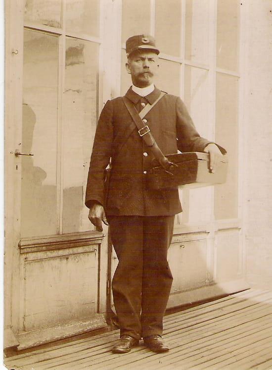 Facteur des postes - Mon arrière grand-père Georges Paul LEBARON, facteur des Postes au Havre